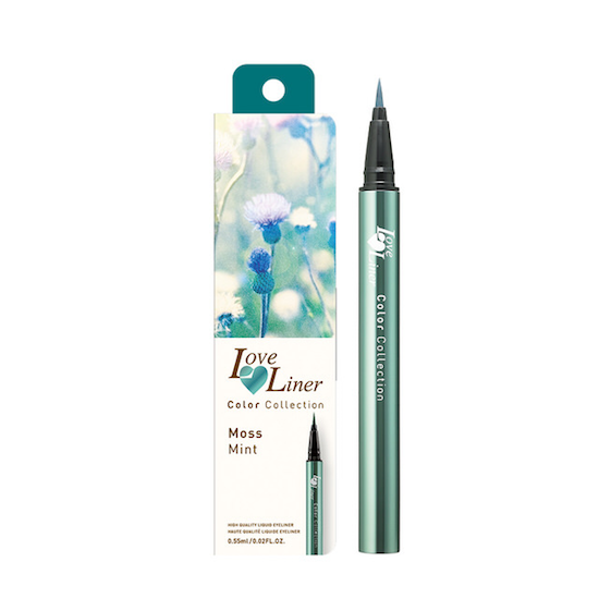 MSH Love Liner Color Collection (Limited Edition) Liquid Eyeliner #Moss Mint|MSH 妙生 Love Liner极细防水眼线液笔 #薄荷绿 2017夏季限定