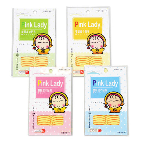 Pink Lady double eyelid 30pc | Pink Lady 双眼皮贴 30回
