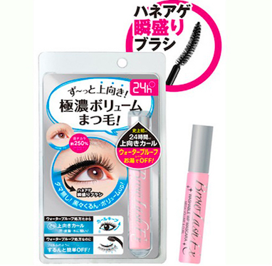 BCL WP Washable Volume & Curl Mascara|BCL 特强丰盈卷曲睫毛膏