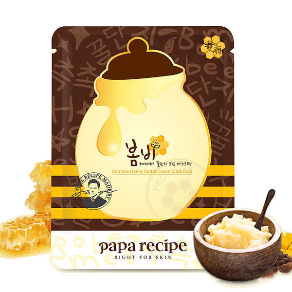 Papa Recipe Bombee Honey Butter Cream Mask 1 pc |Papa Recipe 春雨蜂蜜黄油霜保湿美白面膜 单片
