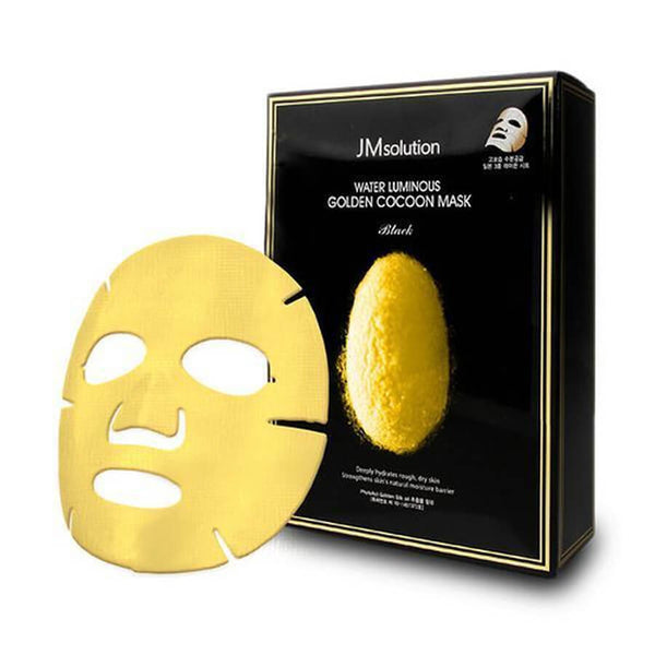 JM Solution Water Luminous Golden Cocoon Mask 1pc | JM Solution 黄金蚕丝面膜 单片