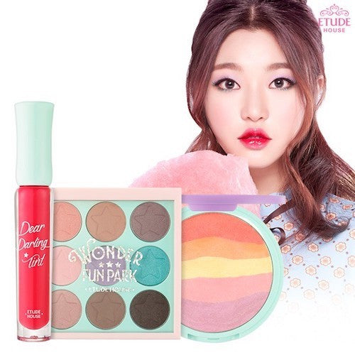 Etude House Wonder Fun Park Day Pass 3 Item Set|爱丽小屋 Wonder Fun Park 游乐园限量Day Pass 3件套装