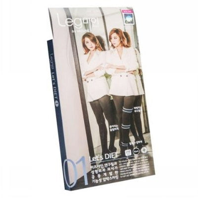 Mizline Let's Diet Leggings L1|Mizline Let's Diet L1 秋冬款美腿袜/裤袜