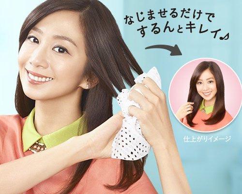 Kao Liese Hair Reset Straightener Wipes 5 sheets|Kao 花王liese头发整理果香湿巾 5枚