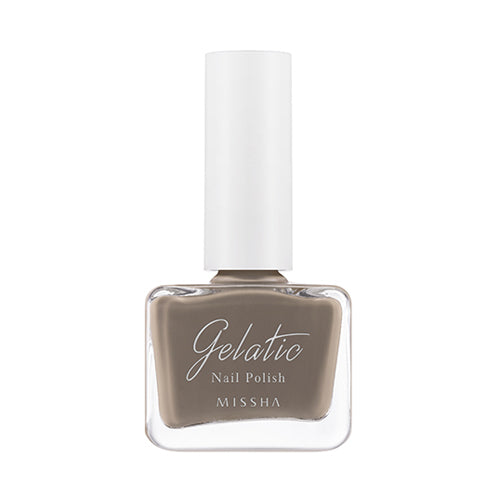 Missha Gelatic Nail Polish #BE05 Royal Milk Tea 9ml | 谜尚 Missha Gelatic指甲油 BE05 奶茶色 9ml