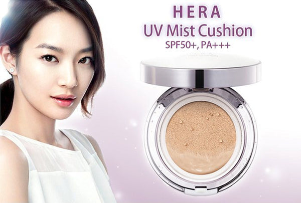 Hera UV Mist BB Cushion Nude - No.21 Vanilla|Hera 赫拉气垫BB 持久不脱妆加替换装 #21 SPF50+PA+++