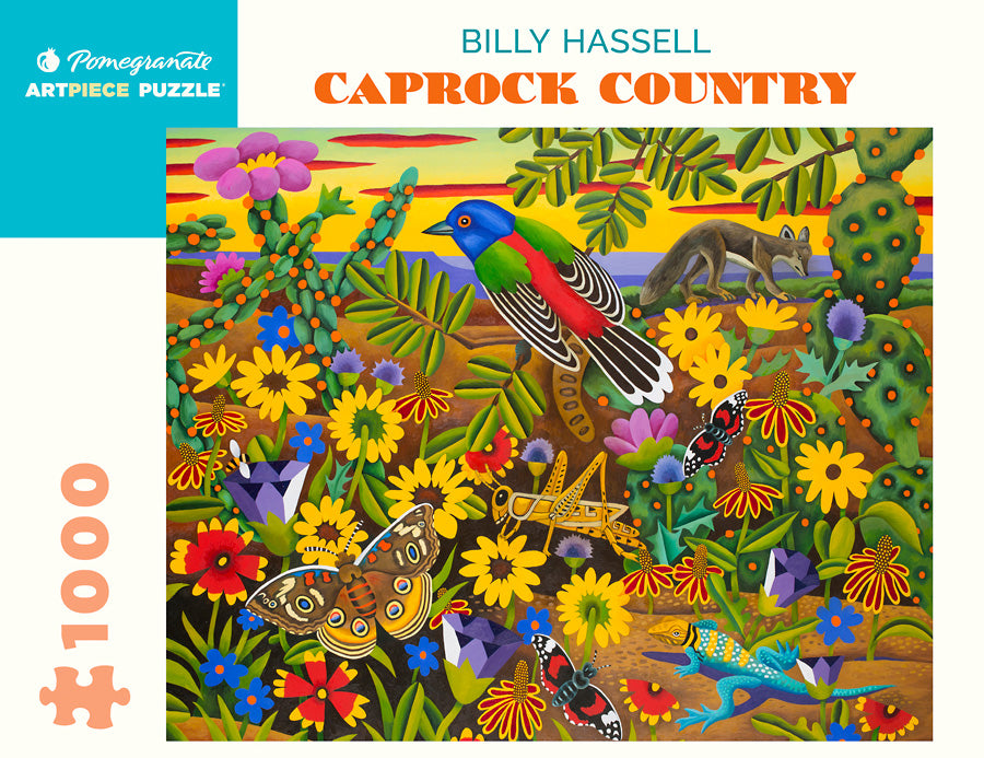 "Pomegranate: Billy Hassell ""Caprock Country"" 1000-pc Puzzle"