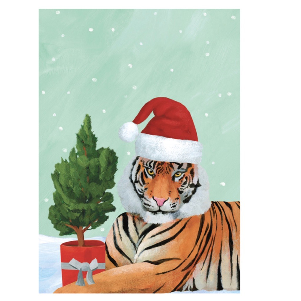 Holiday Card: Tiger