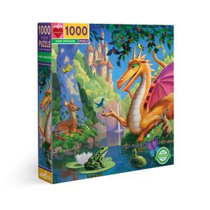 eeBoo: Kind Dragon 1000-pc Puzzle