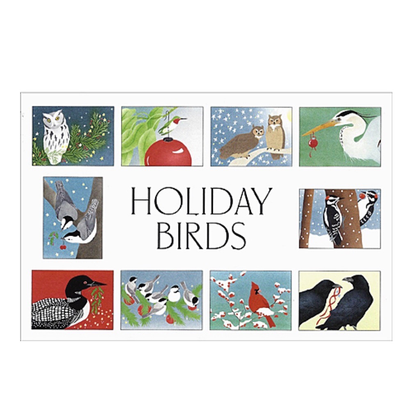 Boxed Holiday Cards: Holiday Birds
