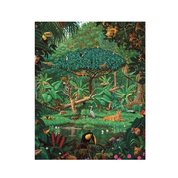 Secrets of the Rainforest 1000-pc Puzzle
