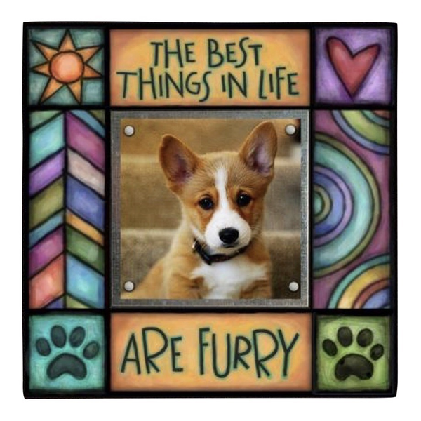 Best Things are Furry Small Frame