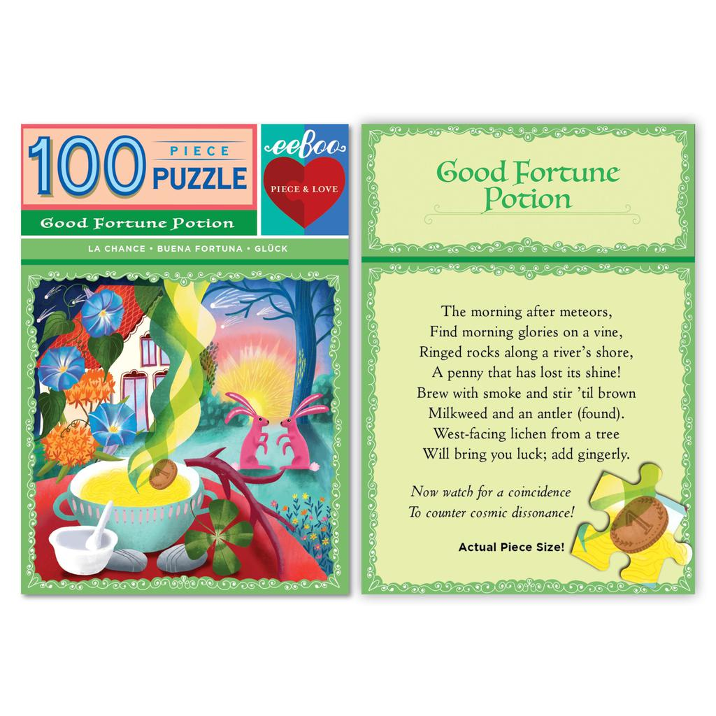 Potion Puzzle: Good Fortune 100-pc