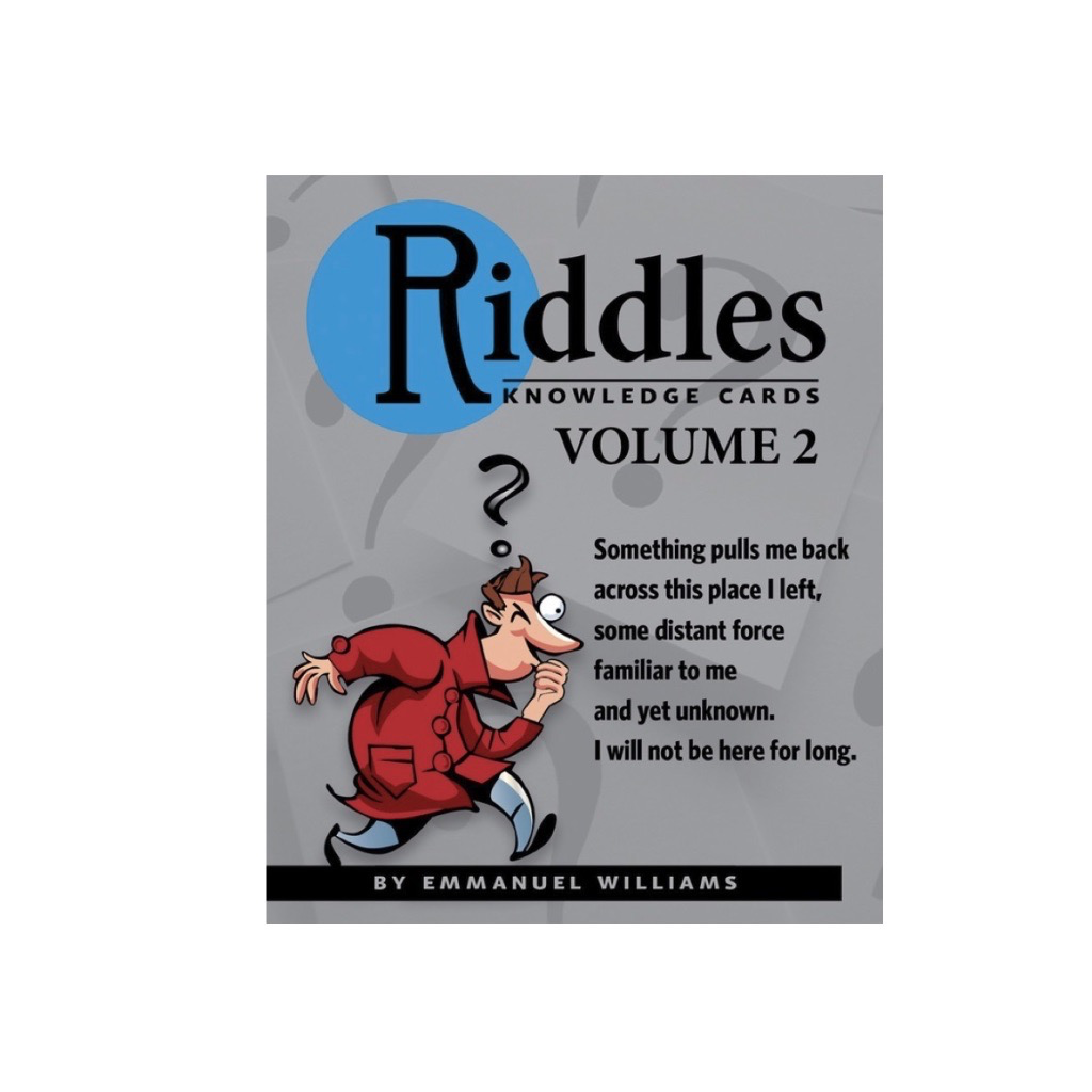 Riddles Vol. 2 Knowledge Cards