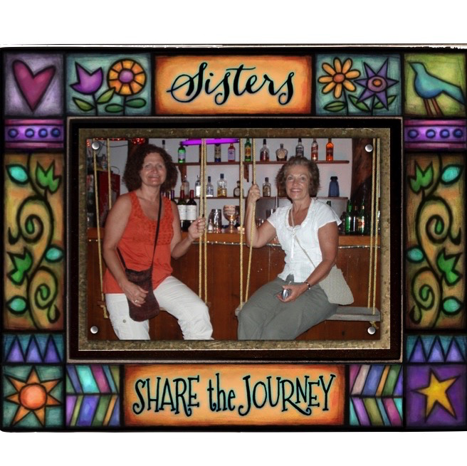 Sisters Share Journey Frame