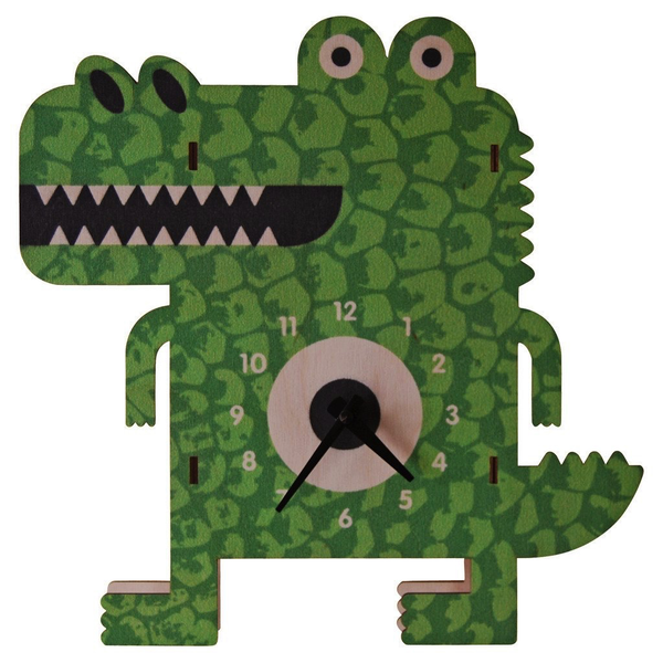 Alligator 3-D Clock