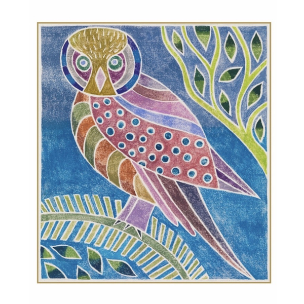 Boxed Holiday Cards: Evening Owl III