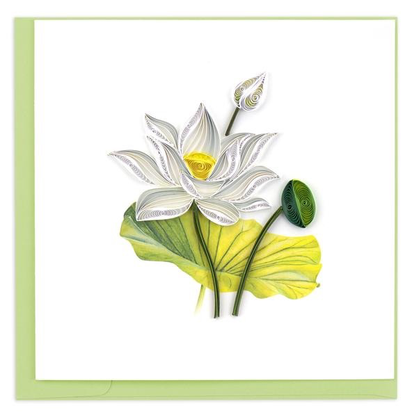 White Lotus Card