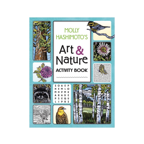 Molly Hasimoto Art & Nature Activity Book