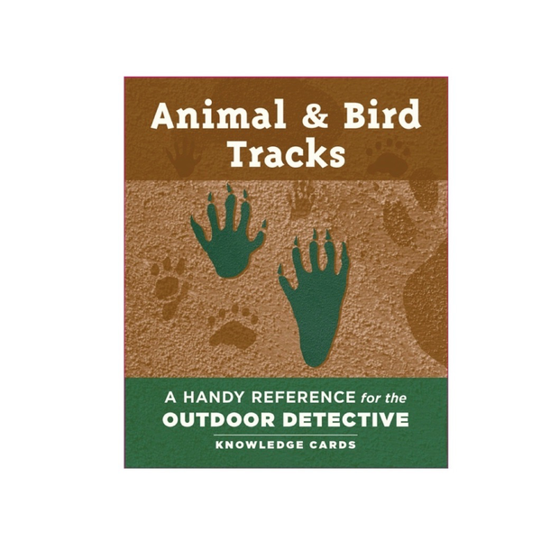 Animal & Bird Tracks Knowledge Cards