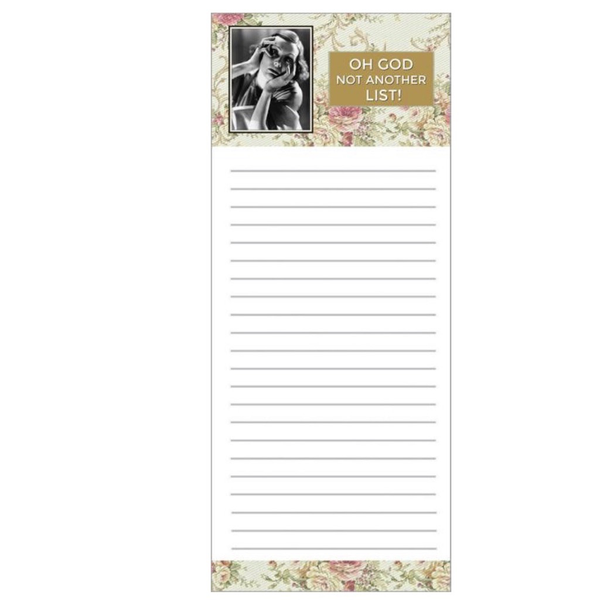 Magnetic Notepad: Not Another LIst