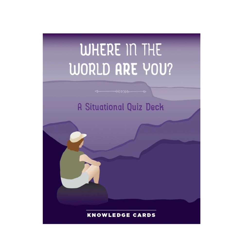 Where in the World Are You Knowledge Cards