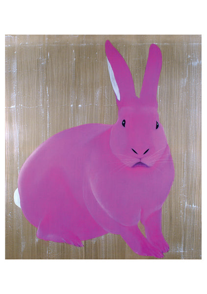 "Pomegranate: Thierry Bisch ""Lapin Rose"" Card"
