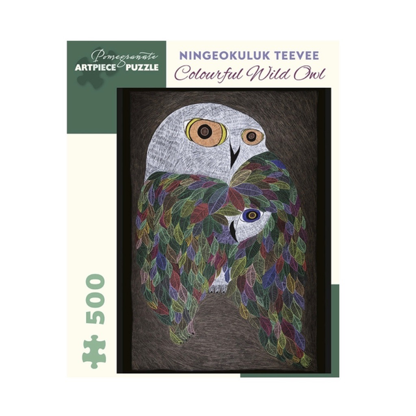 Colourful Wild Owl, 500pc puzzle