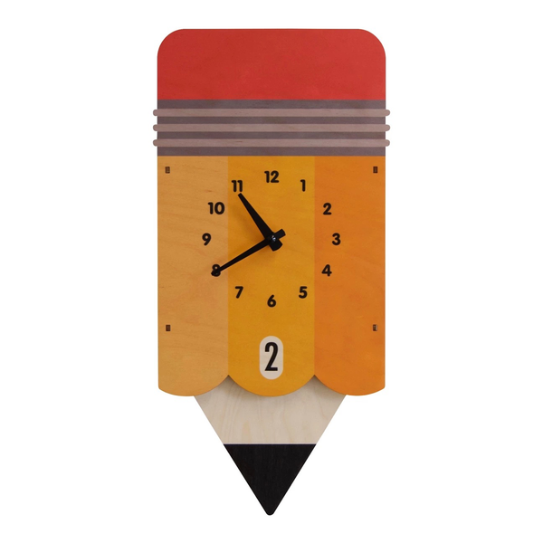 Pencil Pendulum Clock