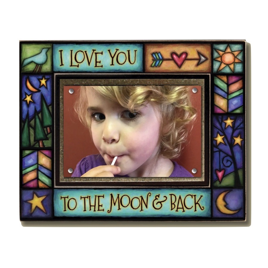 Moon & Back Large Frame