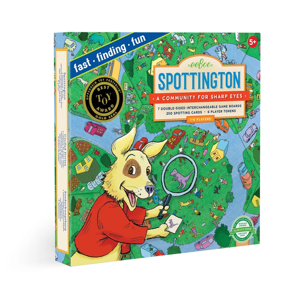 Spottington Board Game