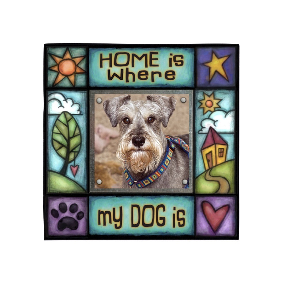 Home Is Where the Dog Is Small Frame