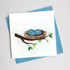 Bird Nest Card