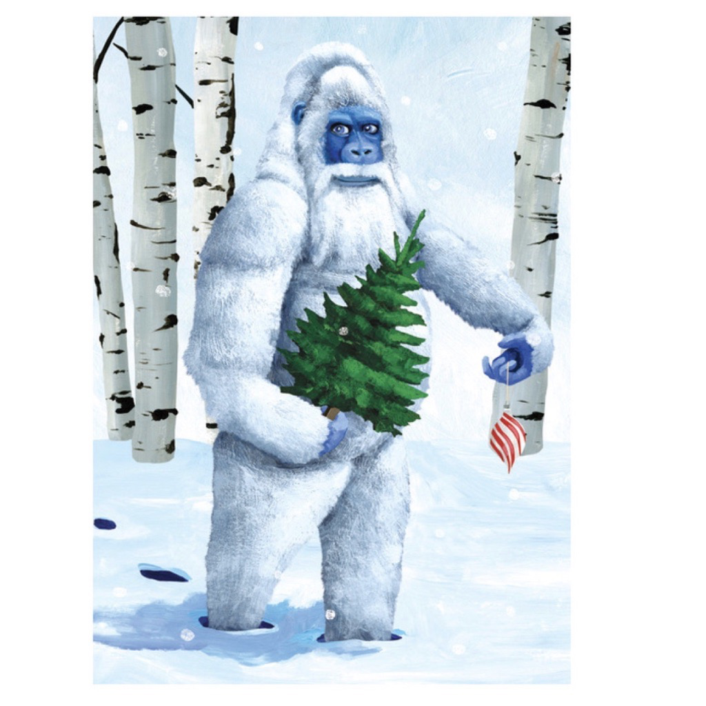 Holiday Card: Yeti