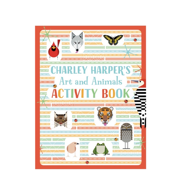 Charley Harper Art & Animals Activity Book