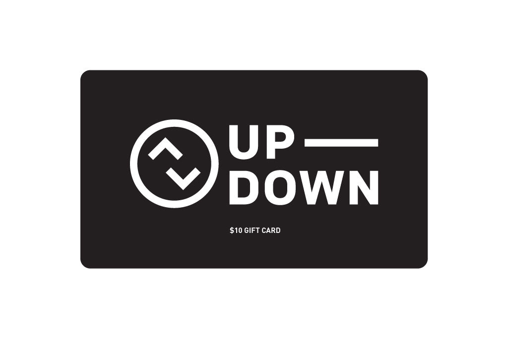 Up Down gift card