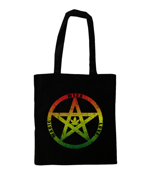 'We-ed-Love-Magic' Shoulder Tote Bag