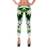 '420 Days' Exclusive Marijuana Themed Designer Leggings