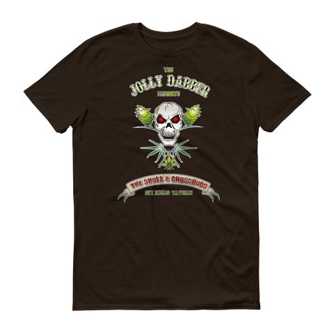 Mens 'Jolly Dabber' Marijuana Tee - Couture 420 - Marijuana Themed Clothing - Mens T Shirts