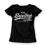 Womens 'Superhigh' Marijuana Parody Tee - Couture 420 - Marijuana Themed Clothing - Womens T Shirts