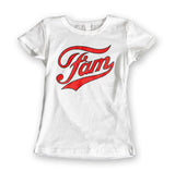 Womens 'Fam' Slogan Parody Tee - Couture 420 - Marijuana Themed Clothing - Womens T Shirts