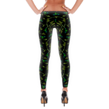 'Dr. Bird' All Over Print Marijuana Leggings - Couture 420 - Marijuana Themed Clothing - Leggings