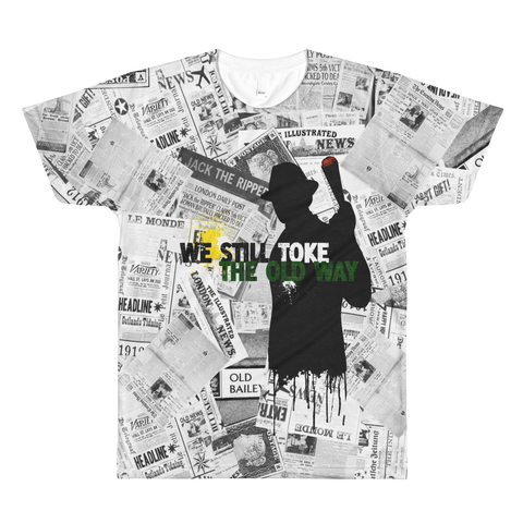 Mens 'We Still Toke' Movie Parody Tee - Couture 420 - Marijuana Themed Clothing - Mens T Shirts