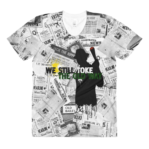 Womens 'We Still Toke' Movie Parody Tee - Couture 420 - Marijuana Themed Clothing - Womens T Shirts