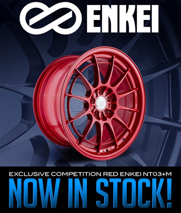 Exclusive Competition Red Enkei NT03+M Now In Stock!