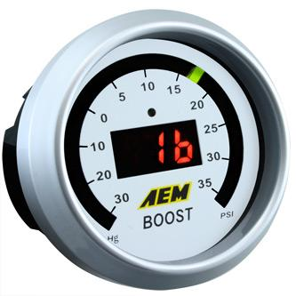 AEM Digital Boost Gauge (30-35PSI) [30-4406]