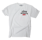 Long Nights Drift T-Shirt - Syndicate Auto Salon