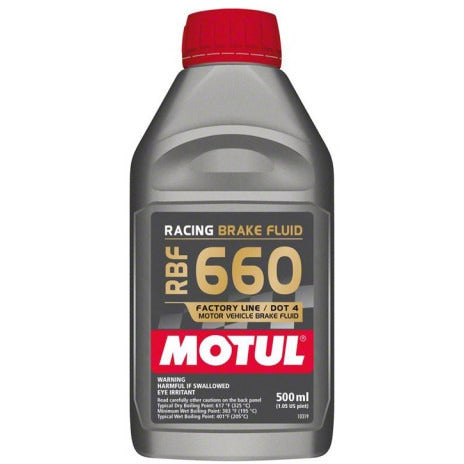 Motul RBF 660 Racing - Brake Fluid DOT 4, 1/2L - Syndicate Auto Salon