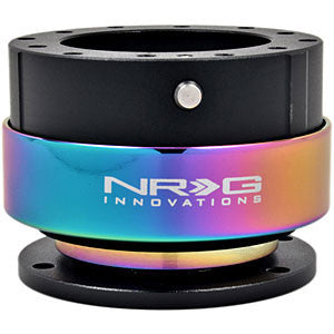 NRG Quick Release: 2.0 (Black Body with Neochrome Ring) [SRK-200BK-MC]