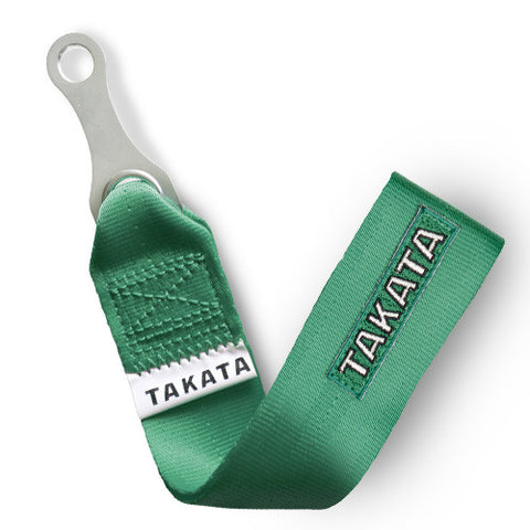 TAKATA Tow Strap - Green - Syndicate Auto Salon